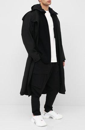 Мужская шерстяной кардиган BOTTEGA VENETA черного цвета, арт. 631288/VKVX0 | Фото 2