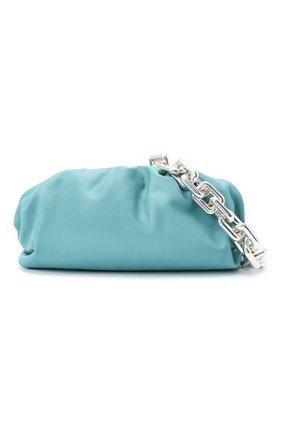 Женская сумка chain pouch BOTTEGA VENETA голубого цвета, арт. 620230/VCP40   Фото 5