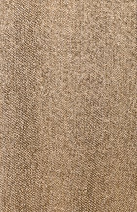 Женский шарф из смеси кашемира и шелка BRUNELLO CUCINELLI золотого цвета, арт. MSCDAR097P   Фото 2 (Материал: Текстиль, Шерсть, Кашемир)