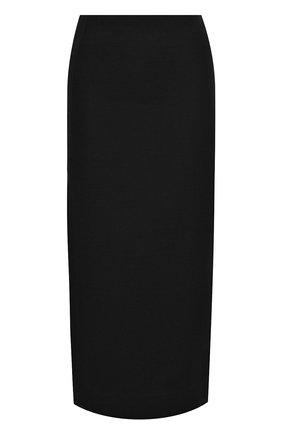 Женская юбка VALENTINO черного цвета, арт. UB3RA6B51CF | Фото 1