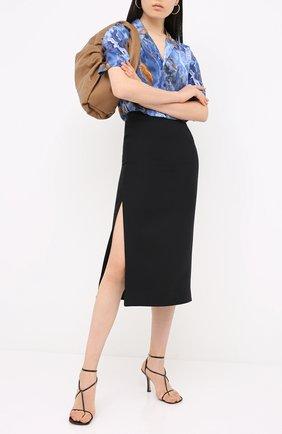 Женская юбка VALENTINO черного цвета, арт. UB3RA6B51CF | Фото 2
