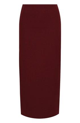 Женская юбка VALENTINO бордового цвета, арт. UB3RA6B51CF | Фото 1