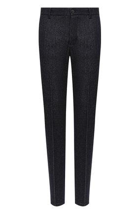 Мужской шерстяные брюки GIORGIO ARMANI темно-синего цвета, арт. 0WGPP0EH/T021V | Фото 1