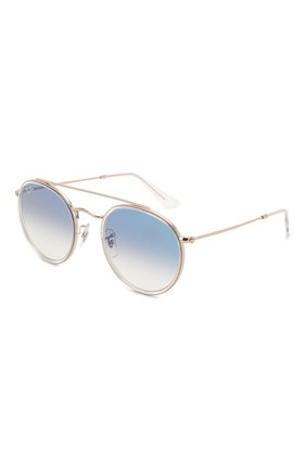 Женские солнцезащитные очки RAY-BAN голубого цвета, арт. 3647N-90683F | Фото 1