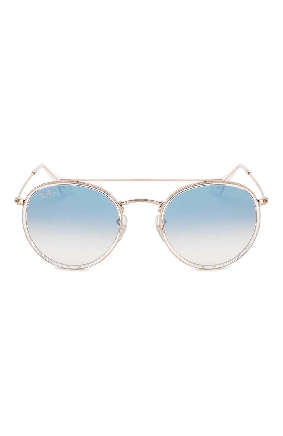 Женские солнцезащитные очки RAY-BAN голубого цвета, арт. 3647N-90683F | Фото 4