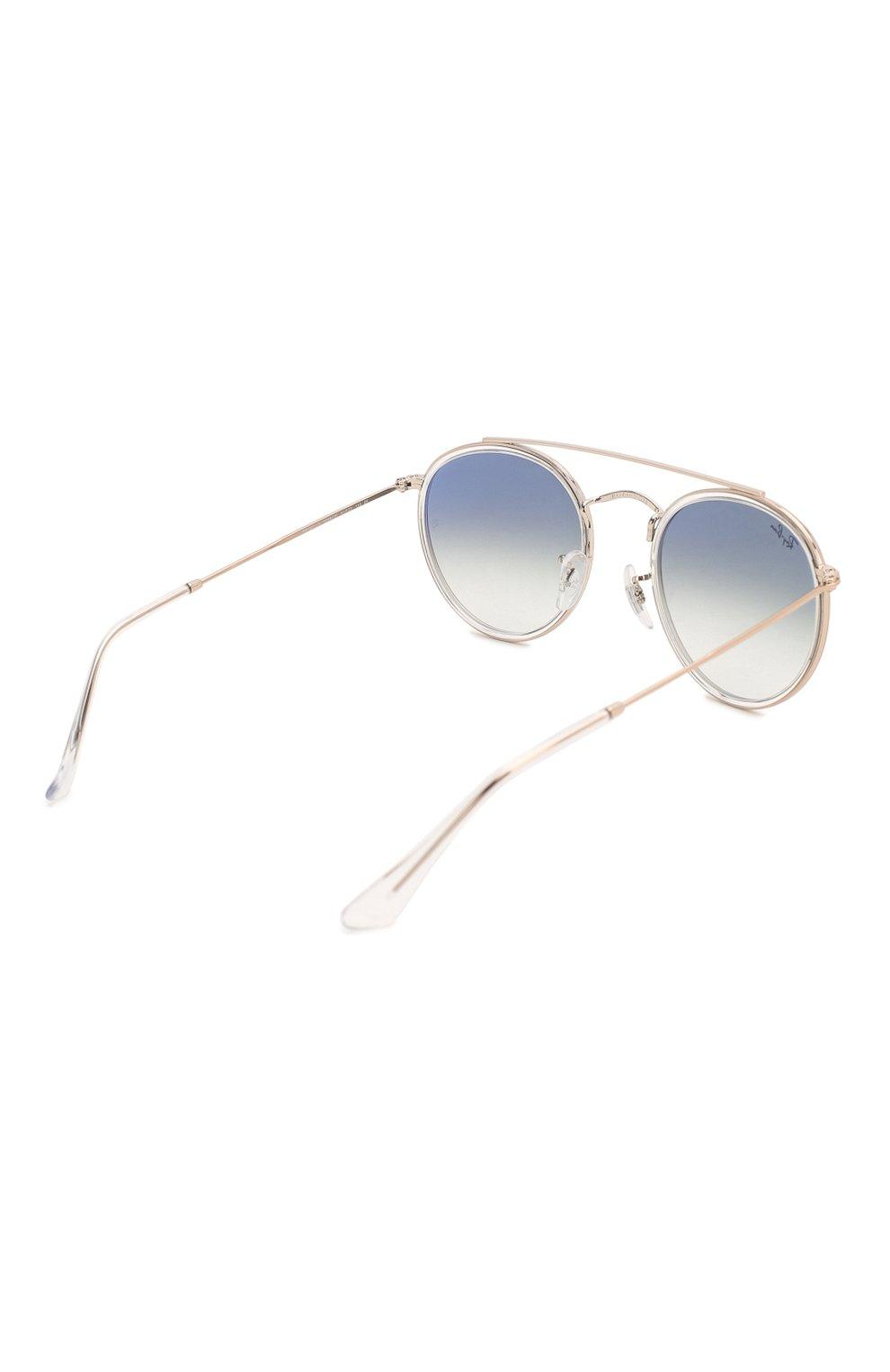 Женские солнцезащитные очки RAY-BAN голубого цвета, арт. 3647N-90683F | Фото 5