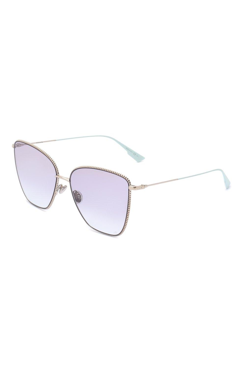 Женские солнцезащитные очки DIOR сиреневого цвета, арт. DI0RS0CIETY1 3YG | Фото 1