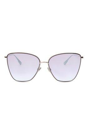 Женские солнцезащитные очки DIOR сиреневого цвета, арт. DI0RS0CIETY1 3YG | Фото 3