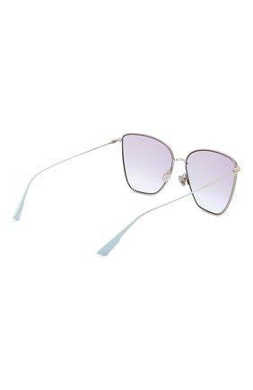 Женские солнцезащитные очки DIOR сиреневого цвета, арт. DI0RS0CIETY1 3YG | Фото 4