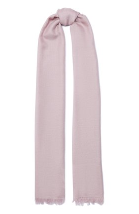 Мужские шарф из смеси кашемира и шелка BRUNELLO CUCINELLI розового цвета, арт. MSC924059P | Фото 1
