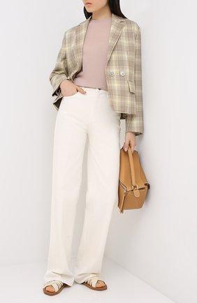 Женский шерстяной пуловер WINDSOR светло-розового цвета, арт. 52 DP459 10005439 | Фото 2