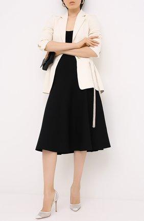 Женская комбинированные туфли rania GIANVITO ROSSI белого цвета, арт. G20130.15RIC.C0Z0F0F | Фото 2
