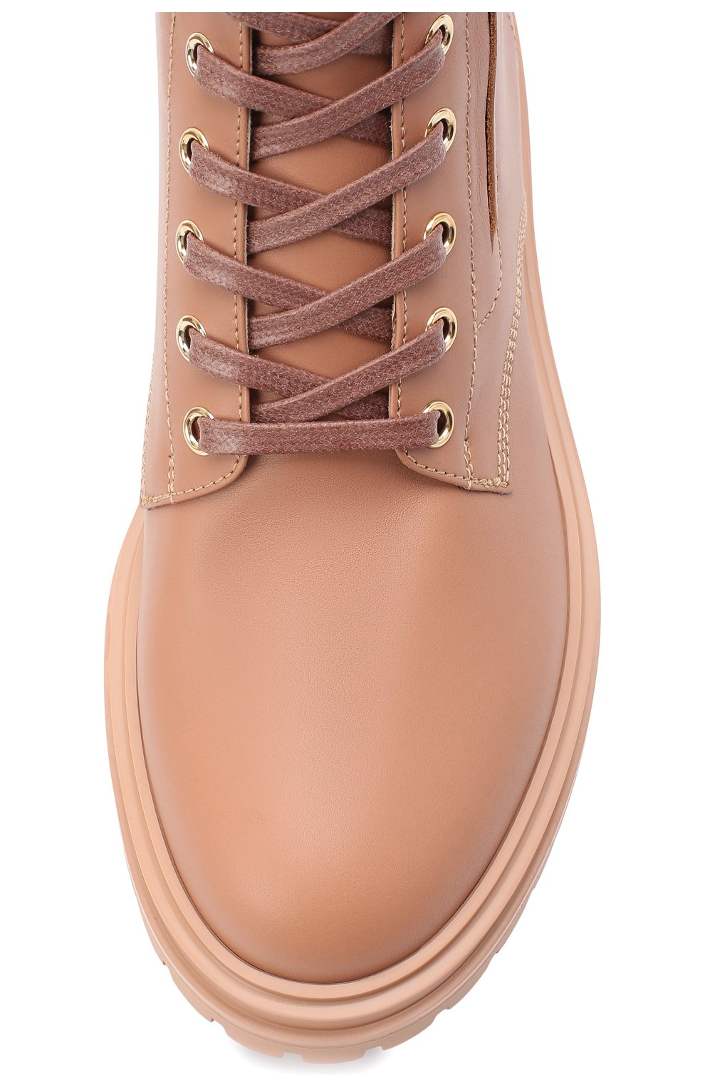 Женские кожаные ботинки turon GIANVITO ROSSI бежевого цвета, арт. G73432.20G0M.CLNPRAL | Фото 5