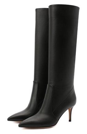 Женские кожаные сапоги hansen GIANVITO ROSSI черного цвета, арт. G80458.70RIC.VGINER0 | Фото 1