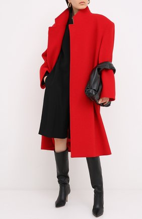 Женские кожаные сапоги hansen GIANVITO ROSSI черного цвета, арт. G80458.70RIC.VGINER0 | Фото 2