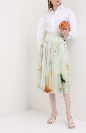 Женские кожаные босоножки alesia GIANVITO ROSSI белого цвета, арт. G31742.70RIC.VITBIAN | Фото 2