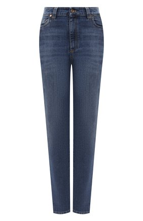 Женские джинсы BRUNELLO CUCINELLI голубого цвета, арт. MP83PP5574 | Фото 1