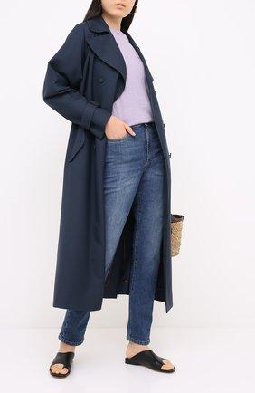 Женские джинсы BRUNELLO CUCINELLI голубого цвета, арт. MP83PP5574 | Фото 2