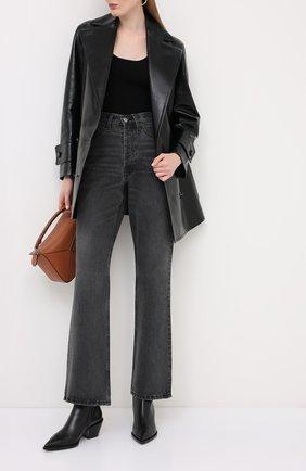 Женские кожаные ботинки kazak GIANVITO ROSSI черного цвета, арт. G05655.45CU0.VITNER0 | Фото 2