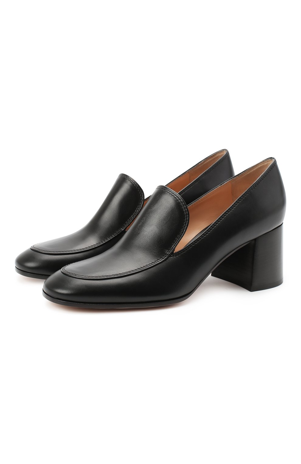 Женские кожаные туфли GIANVITO ROSSI черного цвета, арт. G25187.60CU0.VITNER0 | Фото 1