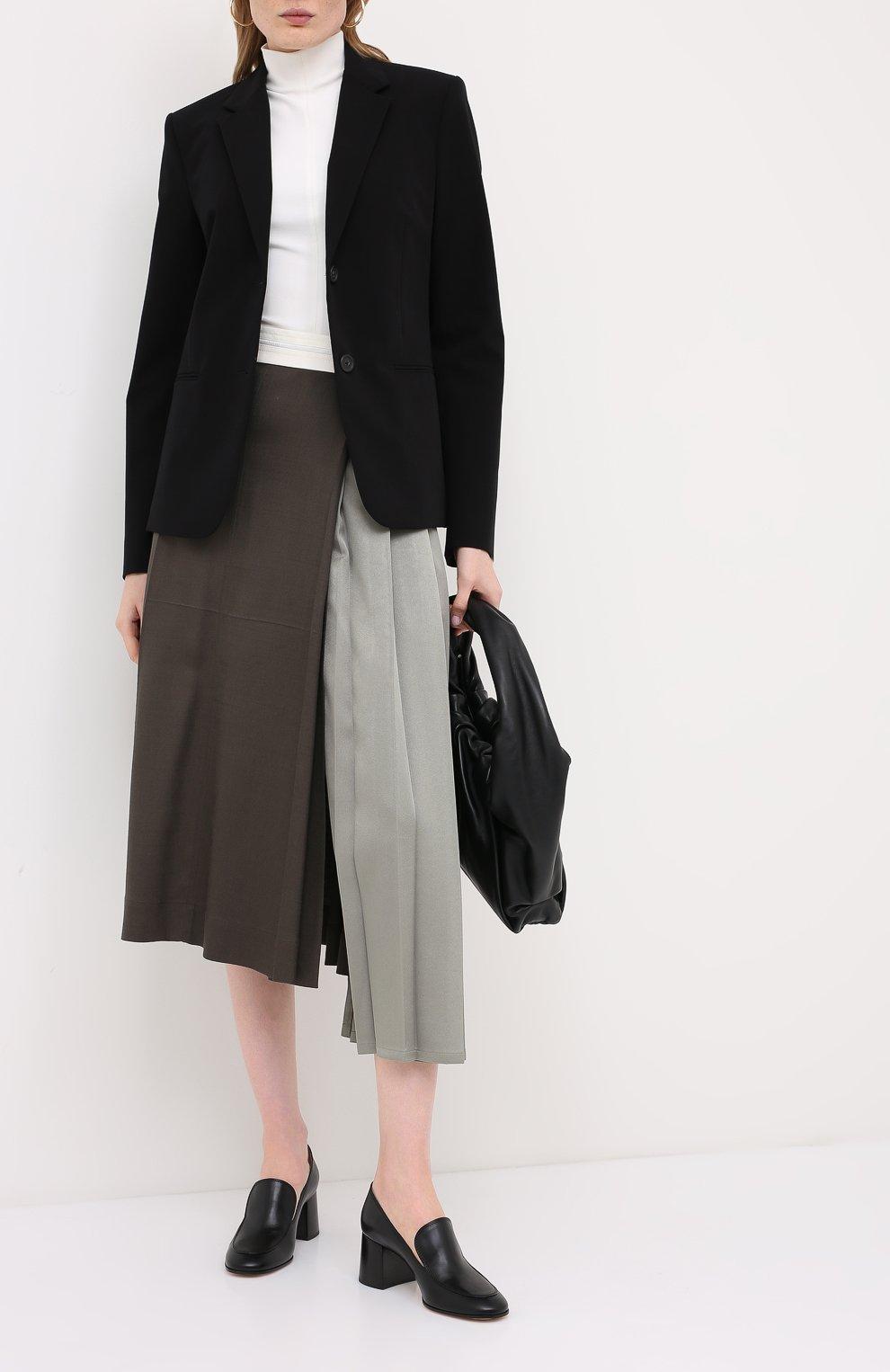 Женские кожаные туфли GIANVITO ROSSI черного цвета, арт. G25187.60CU0.VITNER0 | Фото 2