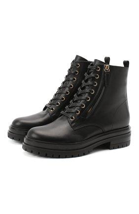 Кожаные ботинки Turon | Фото №1