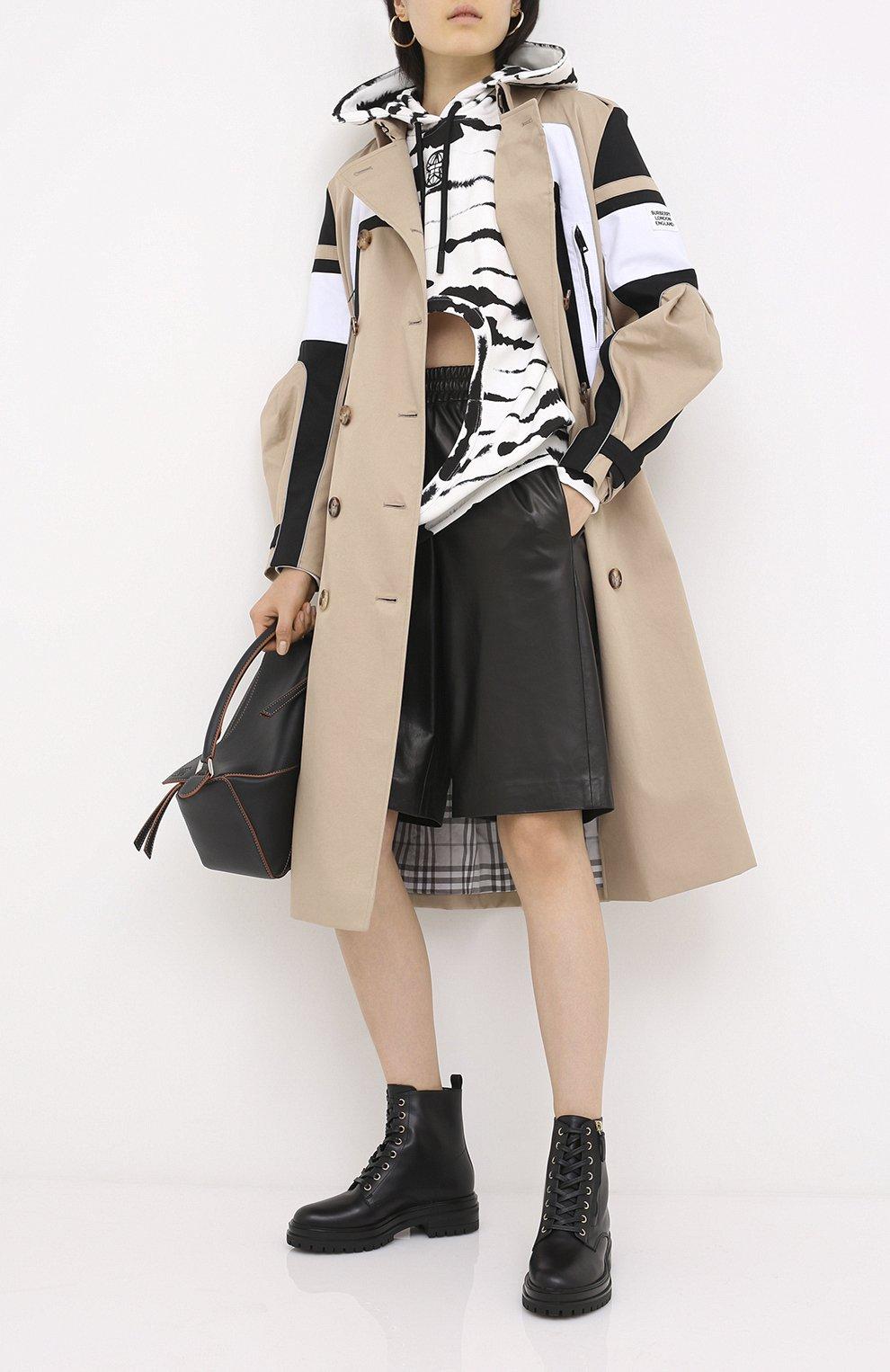 Женские кожаные ботинки turon GIANVITO ROSSI черного цвета, арт. G73432.20G0M.CLNNER0   Фото 2