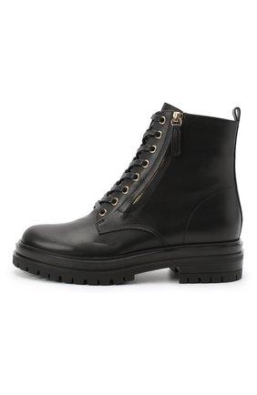 Женские кожаные ботинки turon GIANVITO ROSSI черного цвета, арт. G73432.20G0M.CLNNER0   Фото 3