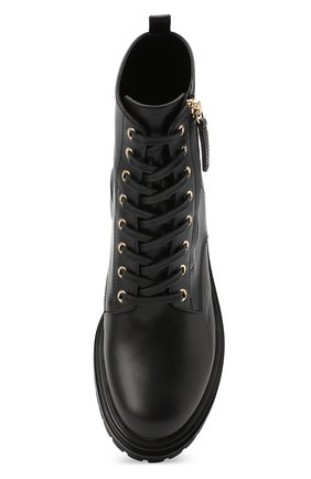 Женские кожаные ботинки turon GIANVITO ROSSI черного цвета, арт. G73432.20G0M.CLNNER0   Фото 5