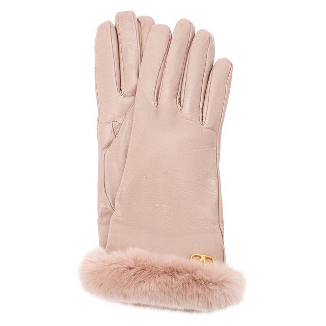 Кожаные перчатки Valentino