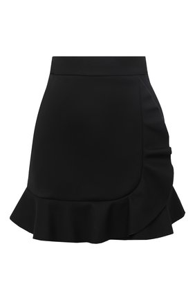 Женская юбка REDVALENTINO черного цвета, арт. UR3RAE85/1Y1 | Фото 1