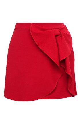 Женская юбка REDVALENTINO красного цвета, арт. UR3RAE25/0VM | Фото 1