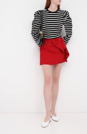 Женская юбка REDVALENTINO красного цвета, арт. UR3RAE25/0VM | Фото 2