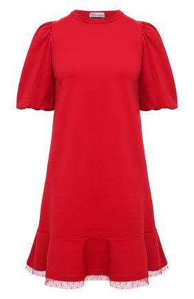 Женское платье REDVALENTINO красного цвета, арт. UR3MJ05H/5C8 | Фото 1