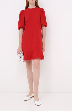 Женское платье REDVALENTINO красного цвета, арт. UR3MJ05H/5C8 | Фото 2