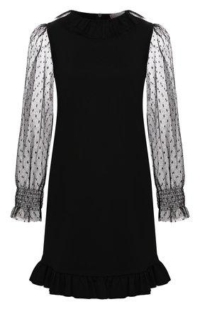 Женское платье REDVALENTINO черного цвета, арт. UR3MJ04X/5C7 | Фото 1
