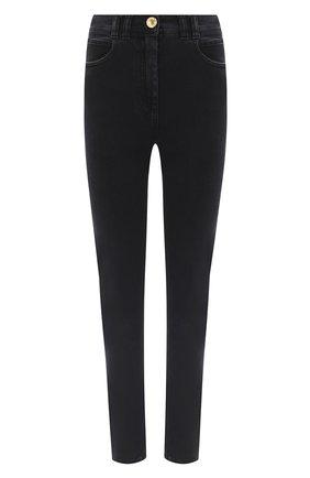 Женские джинсы BALMAIN темно-серого цвета, арт. UF15460/D062 | Фото 1