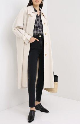 Женские джинсы BALMAIN темно-серого цвета, арт. UF15460/D062 | Фото 2