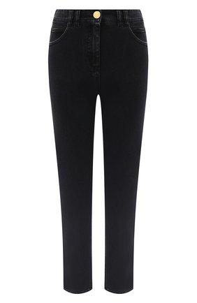 Женские джинсы BALMAIN темно-серого цвета, арт. UF15515/D062 | Фото 1