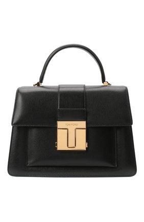 Женская сумка 001 medium TOM FORD черного цвета, арт. L1289T-LG0009 | Фото 1