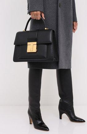 Женская сумка 001 medium TOM FORD черного цвета, арт. L1289T-LG0009 | Фото 2