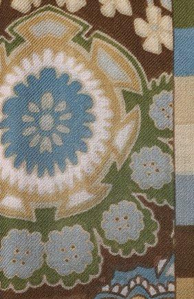 Женская шаль из кашемира и шелка majorelle soffio LORO PIANA хаки цвета, арт. FAI9906 | Фото 2