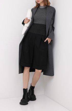 Женская кашемировый топ LORO PIANA серого цвета, арт. FAL2071 | Фото 2