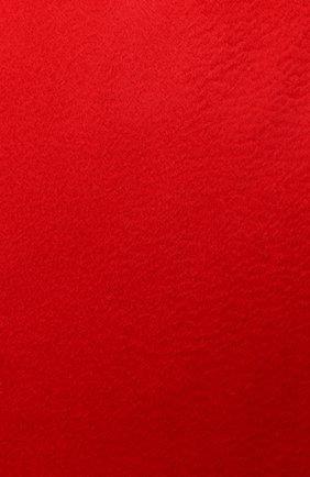 Женский кашемировый шарф grande unita LORO PIANA красного цвета, арт. FAA1056 | Фото 2 (Материал: Кашемир, Шерсть)