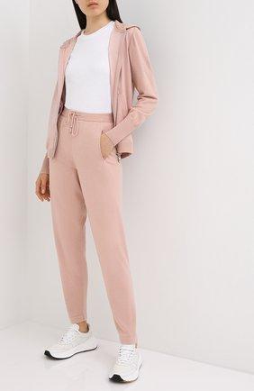 Женские брюки D.EXTERIOR розового цвета, арт. 51093   Фото 2