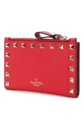 Кожаный кошелек Valentino Garavani Rockstud | Фото №2
