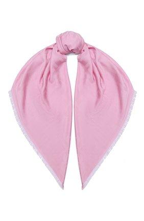 Женская шаль BOSS сиреневого цвета, арт. 50430771 | Фото 1