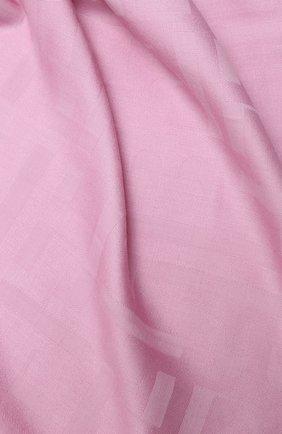 Женская шаль BOSS сиреневого цвета, арт. 50430771 | Фото 2
