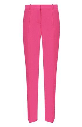 Женские шерстяные брюки BOSS фуксия цвета, арт. 50423906 | Фото 1