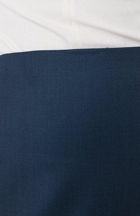 Женская юбка BOSS темно-синего цвета, арт. 50430497   Фото 5